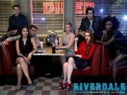 Season 2 Promotional Image Kevin, Veronica, Archie, Betty, Cheryl, Jughead & Josie