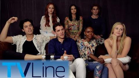Riverdale Cast Interview Comic-Con 2017 TVLine