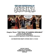Chapter Three The Trial of Sabrina Spellman Poster Draft
