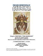 Sabrina Chapter Nineteen The Mandrake Poster Draft