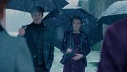 Season 1 Episode 9 La Grande Illusion Polly and Cliff in the snow
