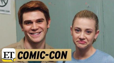 EXCLUSIVE The 'Riverdale' Cast Can't Stop Laughing in This Epic Season 1 Gag Reel!