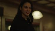 Season 1 Episode 1 The River's Edge Veronica at Pop's diner