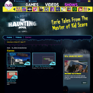 ScR L Stine's The Haunting Hour Show Site The Hub TV Network