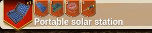 Portable Solar Station Small recipe
