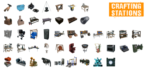 Crafting Stations