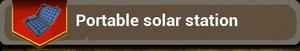 Portable Solar Station recipe
