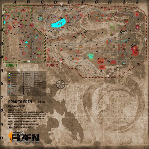 World map by Mitrius