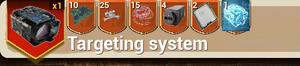 Targeting System recipe