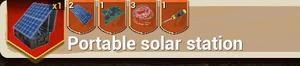 Portable Solar Station Medium recipe