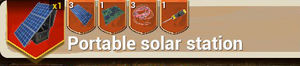 Portable Solar Station Large recipe