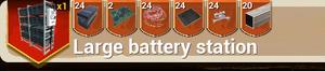 Large Battery Station recipe