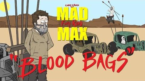 "Mad Max Fury Road ""Blood Bags"" a Carrot and Potato Parody-2"