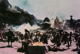 Bartertown burning
