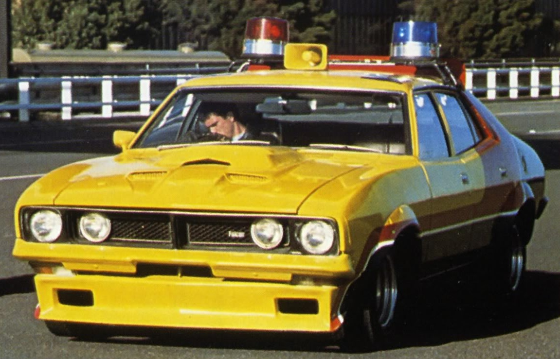 Ford Falcon Xb Sedan 1974 Max S Yellow Interceptor The Mad Max Wiki Fandom