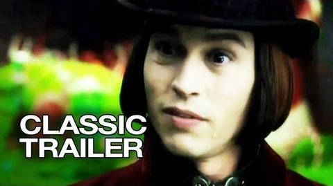 Charlie and the Chocolate Factory (2005) Official Trailer 1 - Johnny Depp Movie HD