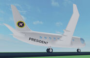 991 Presidential Aircraft