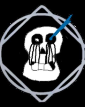 Roblox Sans Undertale Sans Face Sans Roblox Elemental Battlegrounds Wiki Fandom