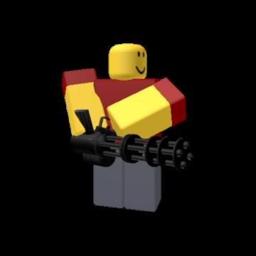 Roblox Mini Head Minigunner Roblox Tower Defense Simulator Wiki Fandom