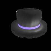 Первая шапка - Purple Banded Top Hat
