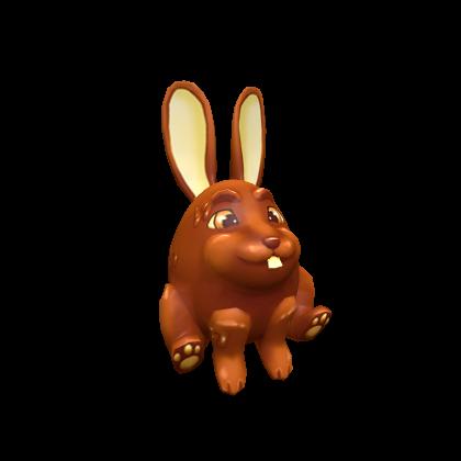 Chocolate Bunny Egg