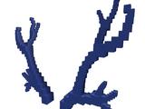 Catalog:Blue 8-Bit Antlers