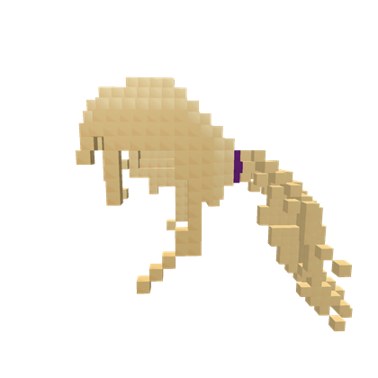 8-Bit Action Ponytail