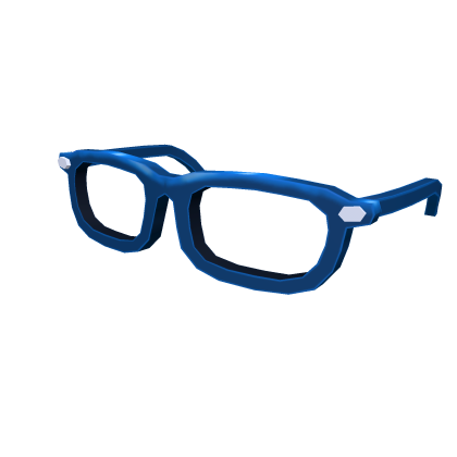 Blue Hipster Specs