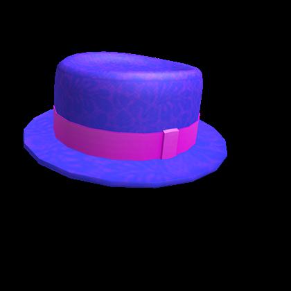 Bright Blue Porkpie
