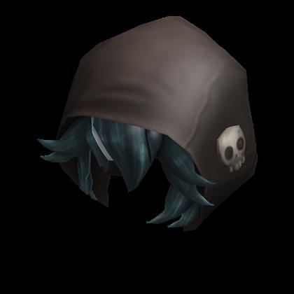 Amory the Undead Necromancer - Hood