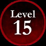 Survive the Killer! Level 15 Badge.png