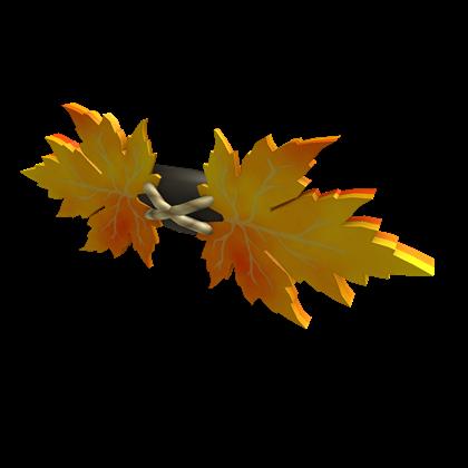 Autumn Leaf Bow Tie
