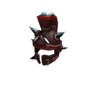 Snowy Red Ice-Nine Drone Helm.png