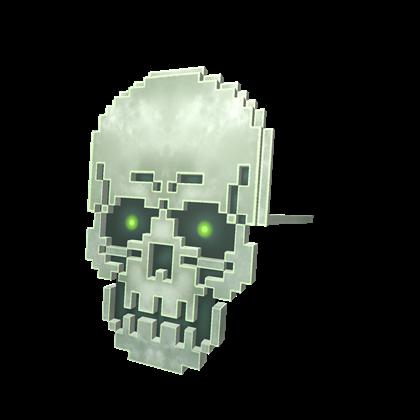 8-Bit Skull Mask