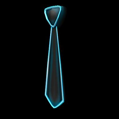 Neon Blue Tie