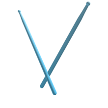 Blue Drum Sticks - Royal Blood.png