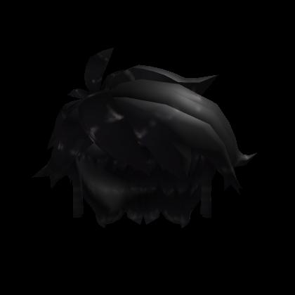 Messy Black Hair Roblox Wiki Fandom