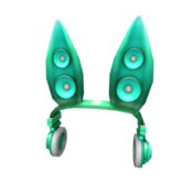 Teal Techno Rabbit Headphones.png