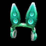 Teal Techno Rabbit Headphones.png