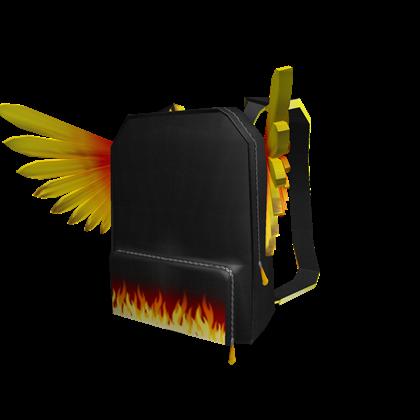 Roblox Backpack Free Catalog Phoenix Backpack Roblox Wikia Fandom