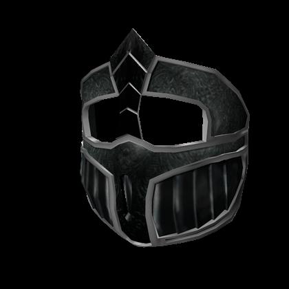 Black Iron Face Guard
