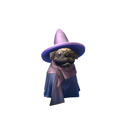 Patience the Pug Wizard