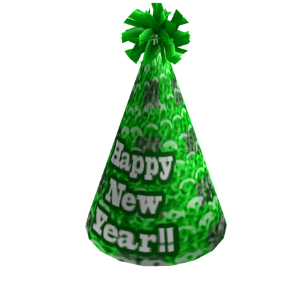 2010 New Year's Party Hat