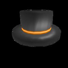 Orange Banded Top Hat.png