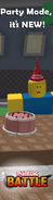 Roblox Battle Join The Party ad