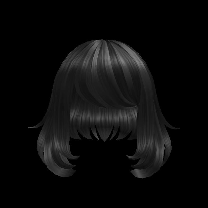 Catalog Short Black Fluffy Hair Roblox Wikia Fandom