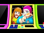 WE'RE TRAPPED IN AN ARCADE MACHINE! (Roblox Arcade Night Story)