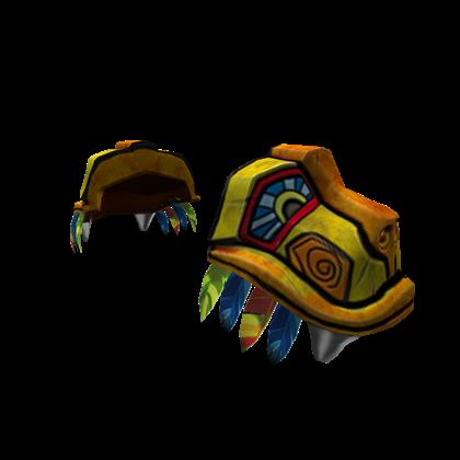 Aztec Warrior Pauldrons