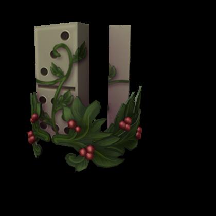 Festive Domino Crown