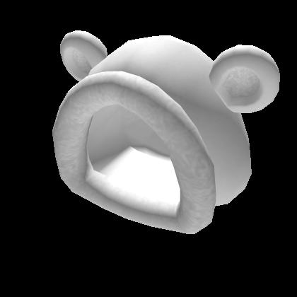 Fuzzy Polar Bear Hood